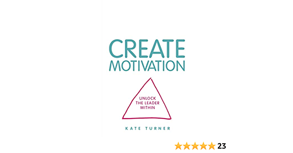 CREATE Motivation by Kate Turner book cover